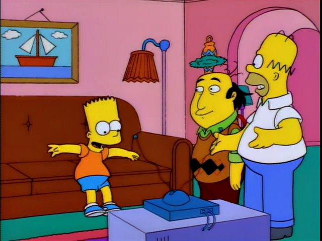 Frinkiac - S06E18 - Bart Simpson, meet Jay Sherman, the critic