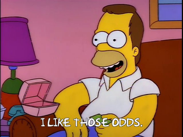 Image result for i like those odds simpsons