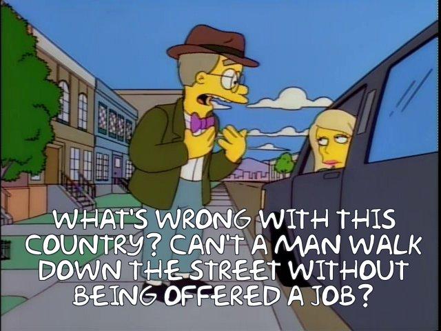 offered a job